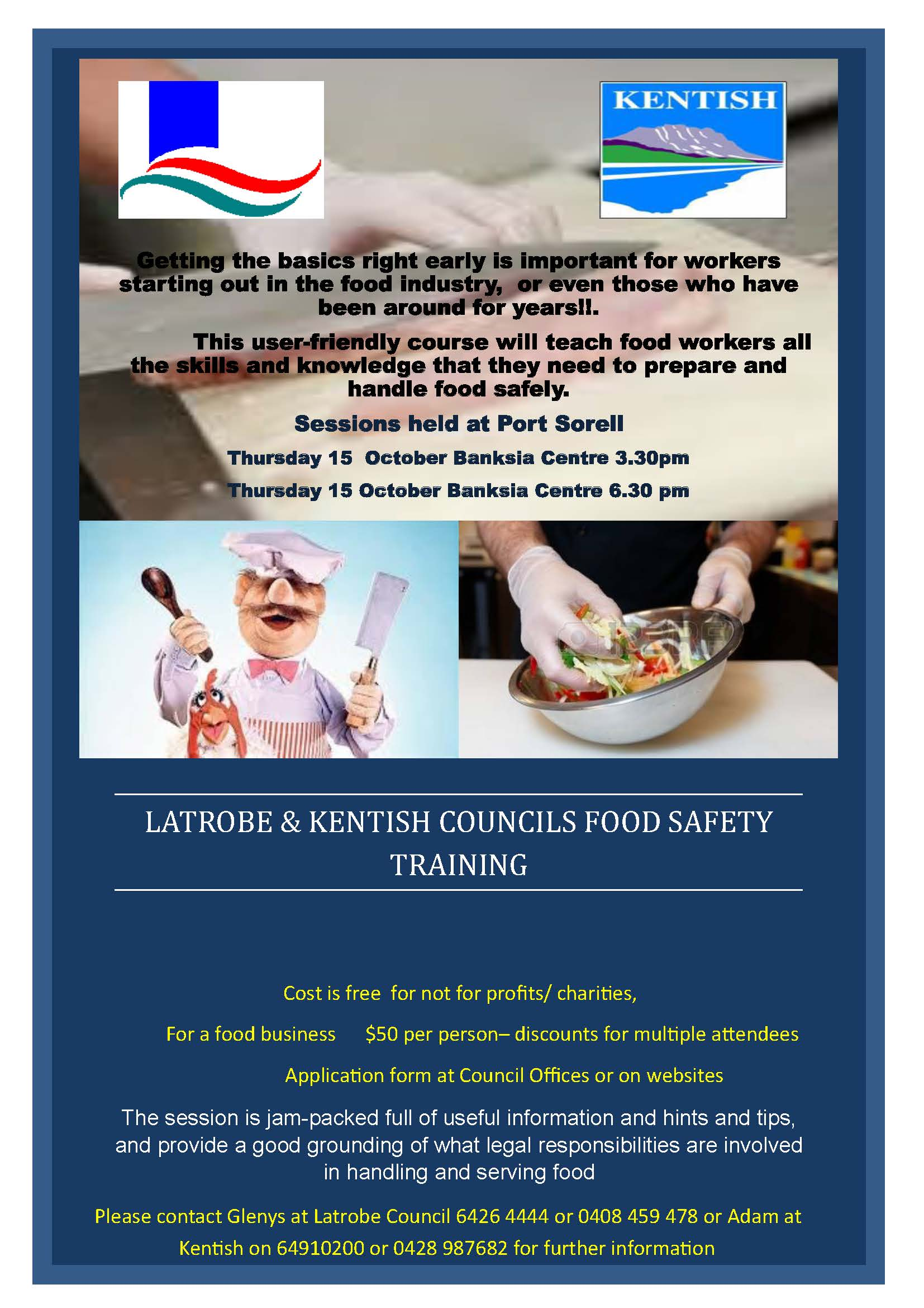 Food Safety Training Poster